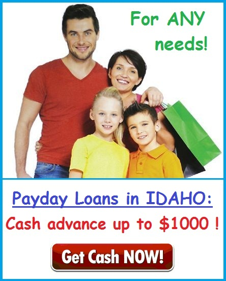 Payday Loans in Idaho USA